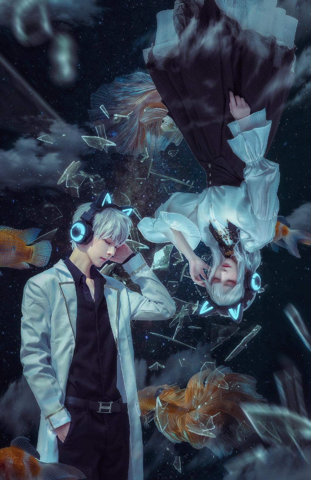 【高清壁纸】妖舞耳机